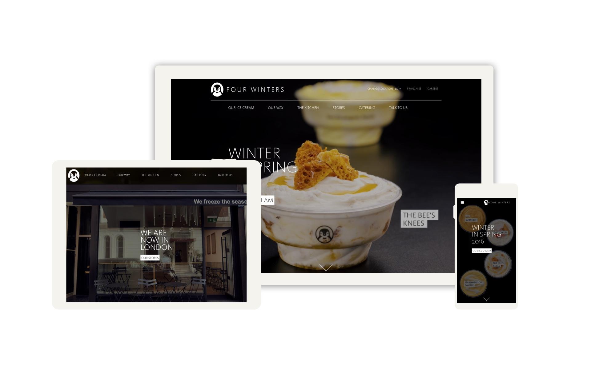 Screen1 - four winters website design 1